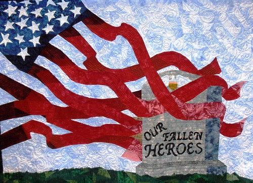 Fallen Heroes Quilt by V Beuth