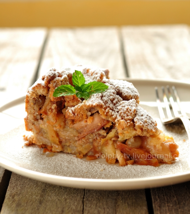Milopita - Greek Apple Pie