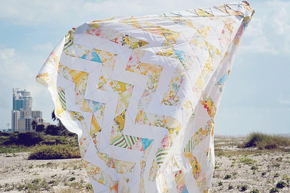 vintage sheets quilt