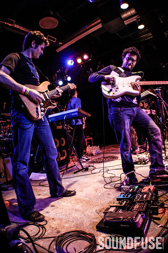 Snarky Puppy with Andreas Kapsalis and Goran Ivanovic at Reggie's-5