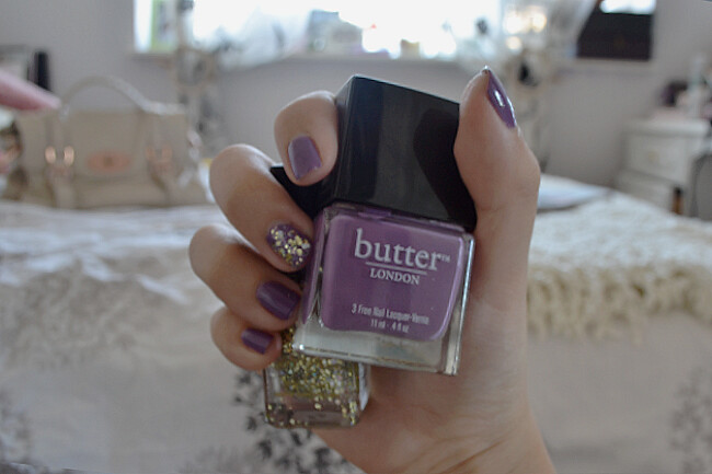 daisybutter - UK Style and Fashion Blog: nails, autumn edit, butter LONDON, Barry M, notd