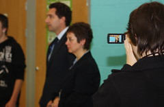 Edward Timpson visits Hereward College in Coventry