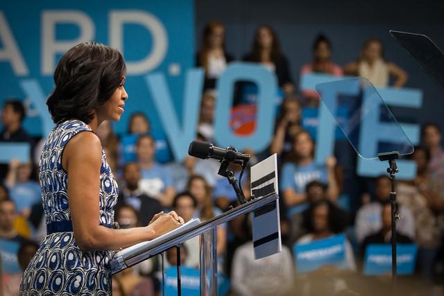 Michelle at UNC-4