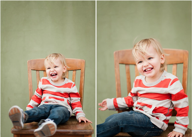 Henry's 2 year photos