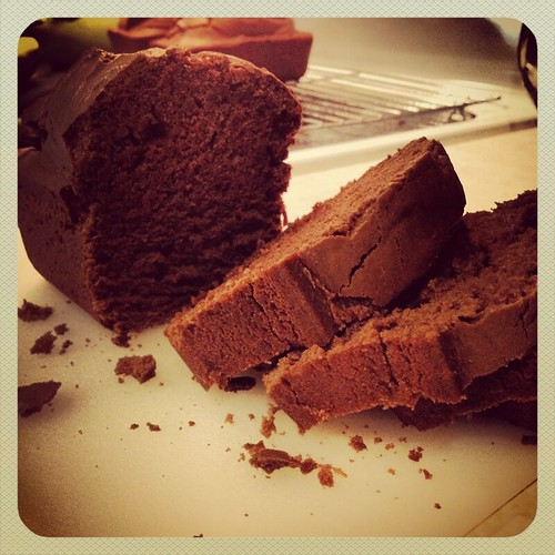 Chocolate Loaf Bread by Heather Says