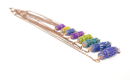 Gypsy Trade Bead Necklaces in Copper