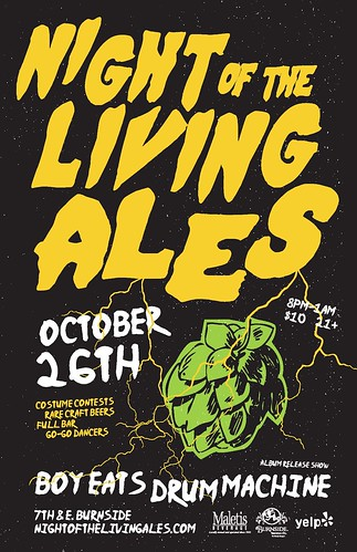 Night of the Living Ales @ Burnside Brewing Co.