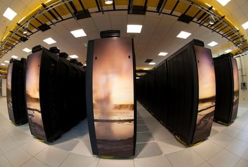 Yellowstone - самый мощный суперкомпьютер для изучения изменения климата из США