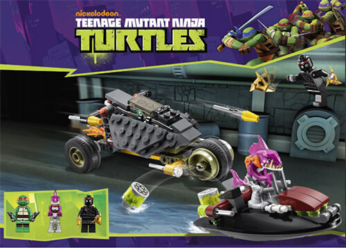 LEGO Teenage Mutant Ninja Turtles (TMNT) 79102 - Stealth Shell in Pursuit