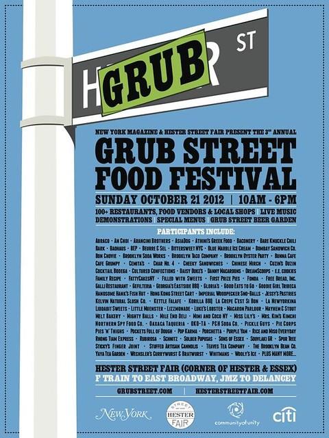grub street food festival 2012