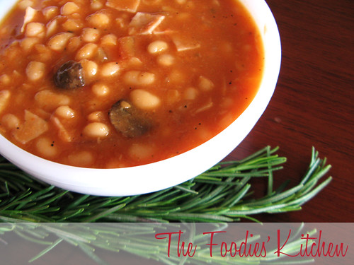 White Bean Stew with Tomatoes and Rosemary
