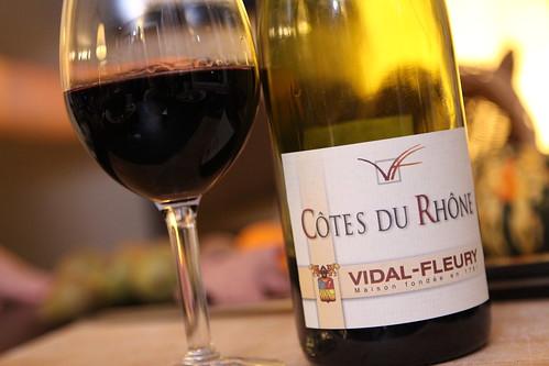 Vidal-Fleury 2007 Cotes du Rhone