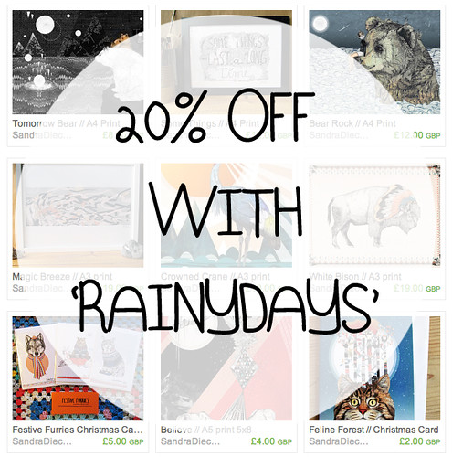 Rainy Days by www.sandradieckmann.com