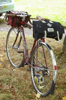 MCLM with historical reenactment saddlebag