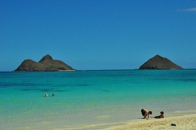 Islands Off Lanikai Beach