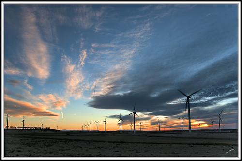 Parque eólico La Muela Zaragoza