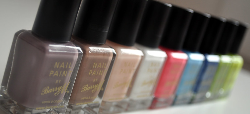 barry m nail polishes 1