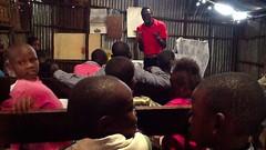 Sunday School in Kibera