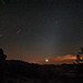 2012's Orionid Meteor Shower Meets Zodiacal Light by Fort Photo