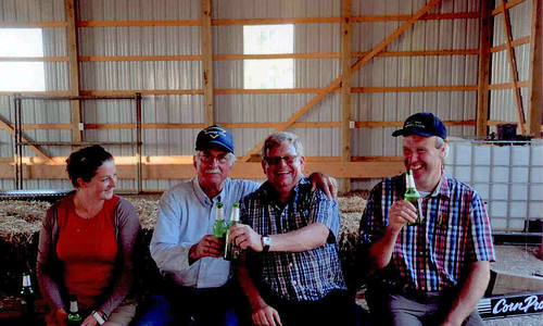 German Growers Visit - Sharing Good Cheer