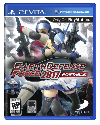 Earth Defense Force 2017 Portable for PS Vita