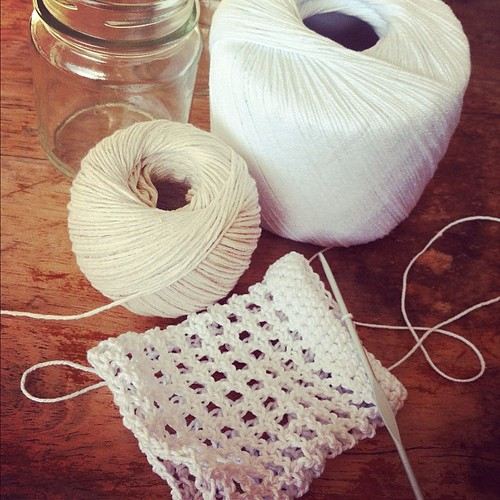 Early morning crochet: jar cosies for the @brisstyle  market tomorrow night #mycreativespace #brisstyle