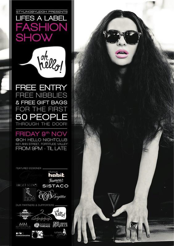 ALHS0001_Fashion Show A3 Poster copy