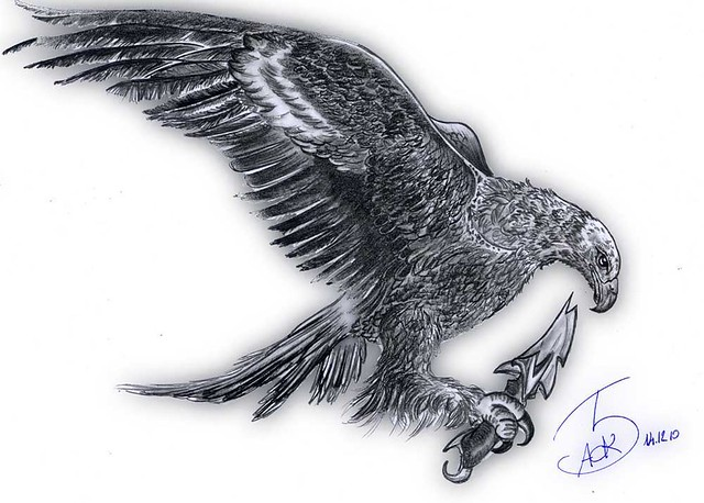 Next Drawing Eagle Tattoo Pictures to Pin on Pinterest