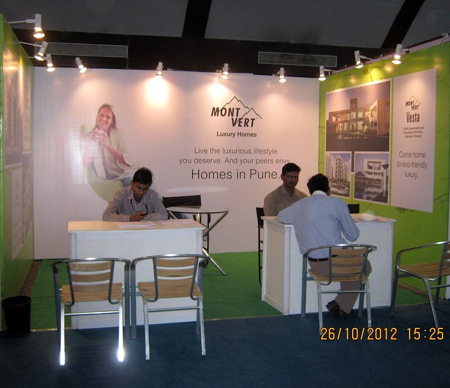 Mont Vert Luxury Homes (www.montverthomes.com) - Exhibition of Properties in Hinjewadi, Wakad, Baner, Balewadi & Bavdhan! - PROFEST WEST 2012 by CREDAI Pune Metro on 26 - 27 -28 October 2012 at VITS Hotel, Balewadi, Pune
