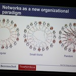 (Small-World) Networks as a new organizational paradigm