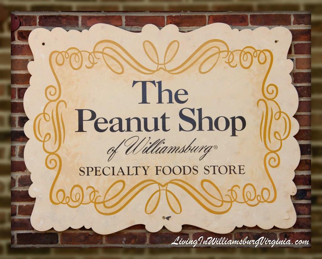 Peanut Shop Sign