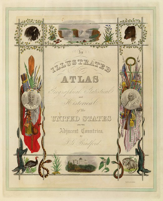 An Illustrated Atlas, Geographical, Statistical, And Historical, Of The United States And The Adjacent Countries 1838