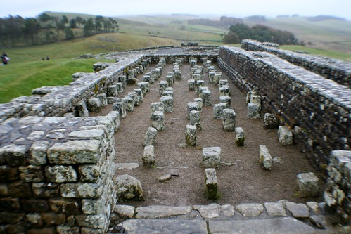 Granaries at Housesteads Roman Fort, Hadrian's Wall