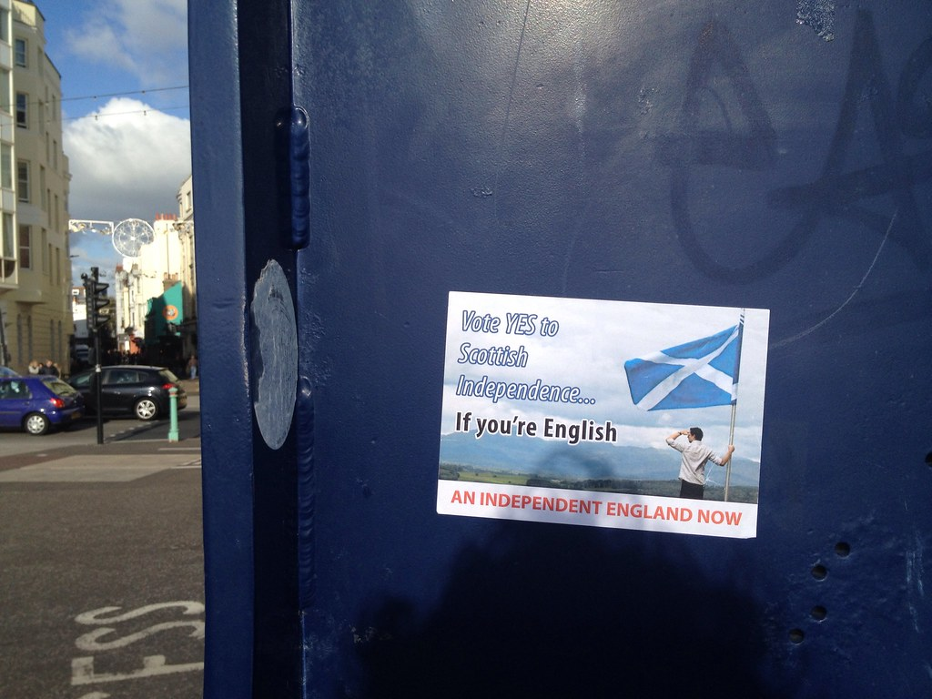 Vote YES to Scottish Independence if you're English