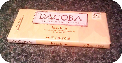 Dagoba 37% Hazelnuts + Rice Crips