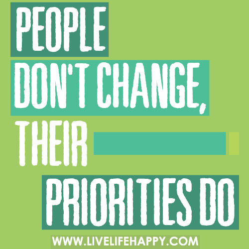 how did the priorities of the Priorities: the things that someone cares about and thinks are important: the condition of being more important than something or someone else and therefore coming or being dealt with first see the full definition for priority in the english language learners dictionary priority noun.