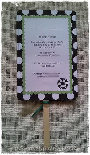 Invitación1 Kit cumpleaños futbolero Merbo Events