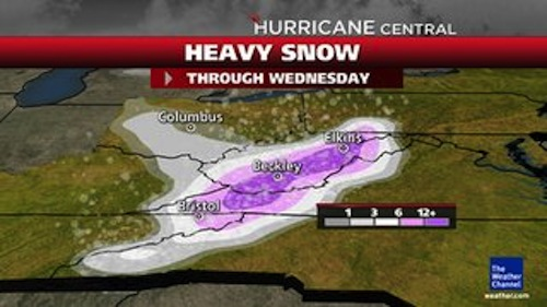 Sandy Snows (Weather Channel)