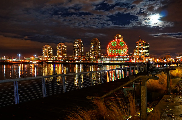 Vancouver Science World Halloween Theme