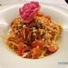 Capellini al pomodoro (massa fresca longa elaborada com molho tradicional de tomate fresco e manjericão)