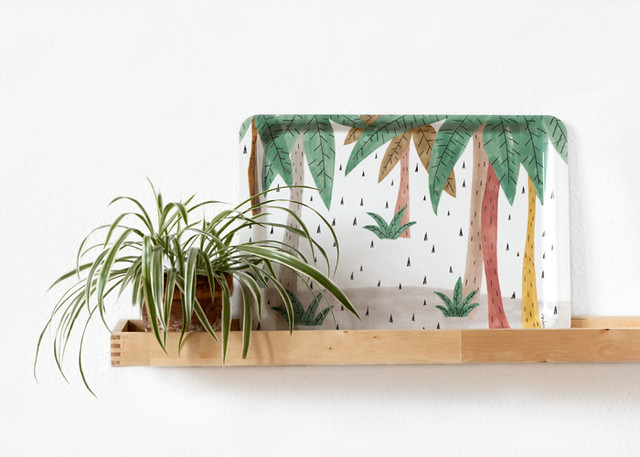 Trees Tray by Depeapa