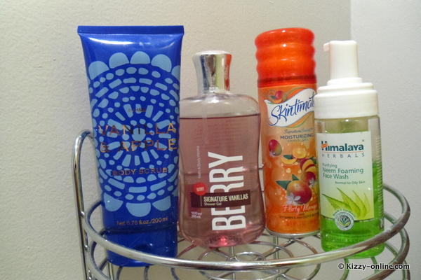 skincare skin care products shower