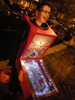 The Pinball Machine Halloween Costume