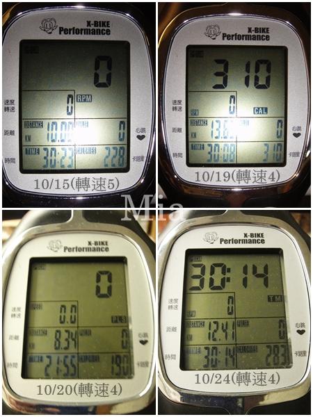 X-Bike記錄-10110