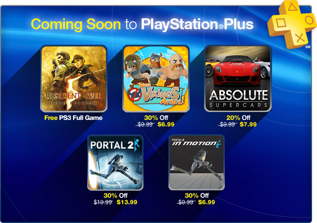 PlayStation Plus Update 11-5-2012