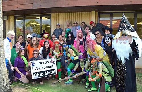 <p>Kauai Community College's Math Club</p>