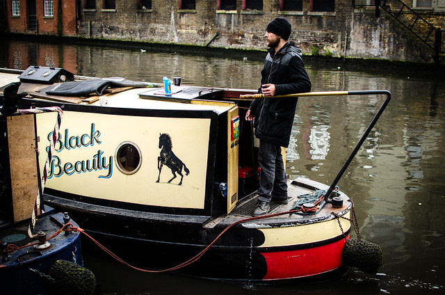 camden lock london canal house barge hipster