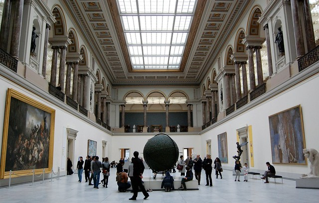 Museu em Bruxelas - A Morte de Marat