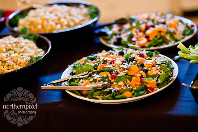 Wedding Buffet salads