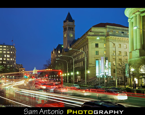 city longexposure sky usa cloud motion history horizontal architecture outdoors photography dawn washingtondc streetlight cityscape traffic unitedstates dusk citylife nopeople illuminated publicbuilding pennsylvaniaavenue transportation dome roadsign rushhour stoplight debate taillight neoclassical crowded capitolbuilding federalbuilding lighttrail stockphotography freedomplaza governmentbuilding ronaldreaganbuilding internationaltradecenter capitalcities traveldestinations colorimage buildingexterior canoneos5dmarkii citydome samantonio fiscalcliff washingtondcbluehour washingtondcphotolocations impliedpeople inauguration2013